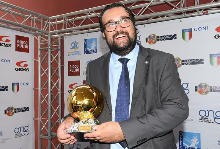 Premio ''Gaetano Scirea'' al presidente Andrea Montemurro - Andrea Montemurro Blog